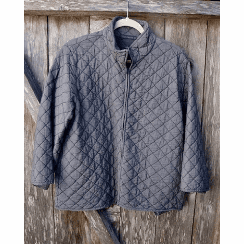 quilted aline jacket