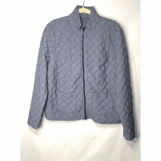 quilted parachute patch pkt jacket