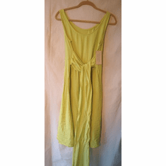 rayon sash dress