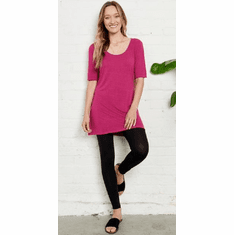 speckled tunic