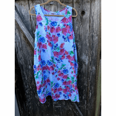 summer garden pocket dress