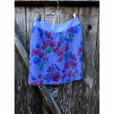 summer garden walking skirt