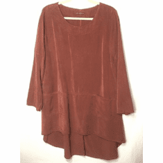 tencel hi low tunic