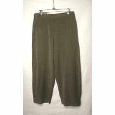 tencel side tuck pant