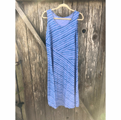 water color tank dress