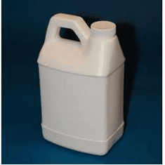1/2 Gallon Bulk Packed F Style Polyethylene Bottles, 2 Case Pack