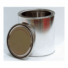 1/2 Gallon Can Unlined Paint Cans,12 Case Pack