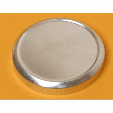 1/2 oz Top, Flat Industrial Round Seamless Slip-on cover,48 Pack
