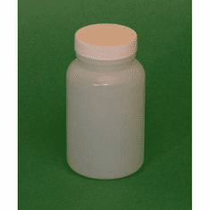 1/2 Pint HDPE Wide Mouth Jars,12 Pack