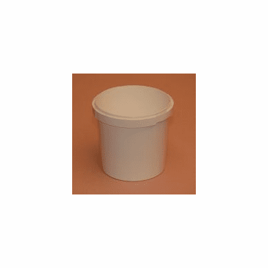 1/4 gallon Commercial Series Food Containers,No Handle, PP,100 Pk