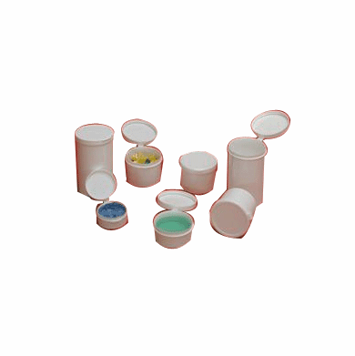 1/4 oz Hinged Lid Containers,1800 Case Pack
