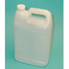 1 Gallon Bulk Packed F Style Polyethylene Bottles, 2  Pack