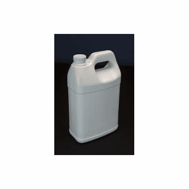 1 Gallon F Style Polyethylene Bottles with Shipping Boxes,4 Pack