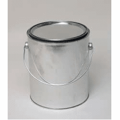 1 Gallon Pail with Handle Epoxy  Lined,12 Case Pack