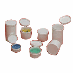 1 oz Hinged Lid Containers,800 Case Pack