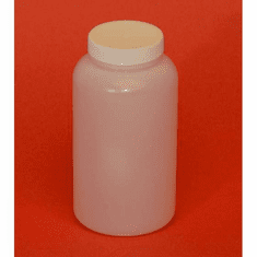 1 Pint HDPE Wide Mouth Jars,12 Pack