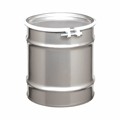 10 Gallon Open Head Stainless Steel Drums