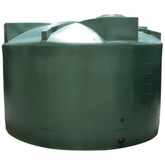 10000 Gallon Plastic Rain Water Storage Tank|Rainwater Harvesting|140�D x 162�H