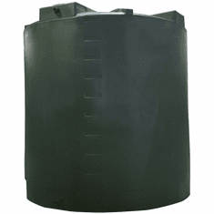 "10000 Gallon Plastic Water Storage Tank|Long-Term Water Storage|Dimensions: 140"" Diameter x 162"" Height"