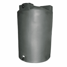 "1150 Gallon Plastic Water Storage Tank | Long-Term Water Storage |  Dimensions: 63"" Diameter x 90"" Height"