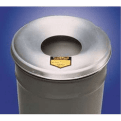 12-15 Gallon, Aluminum - Cease-Fire Drum and Pail Covers