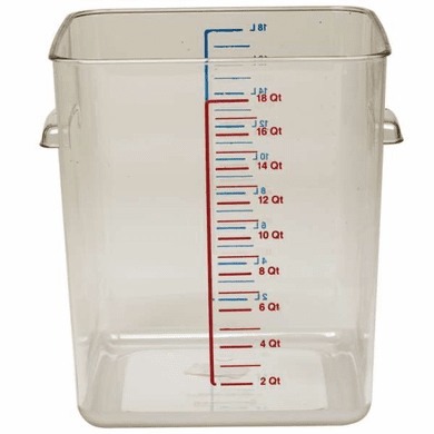 sc 1 st  BayTec Containers & 12 Quart Polycarbonate Rubbermaid Square Food Storage Containers