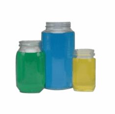 128 oz Economy Glass Jars,4 Case Pack