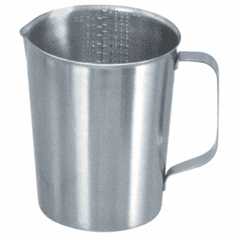 128 oz Graduated Stainless Steel Measures