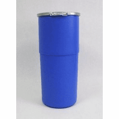 14 Gallon  Plastic Drum Open-Top Tapered-Side