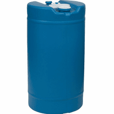 15 Gallon New Plastic Barrel  | FDA  Material, 2 inch & 3/4 inch bung caps
