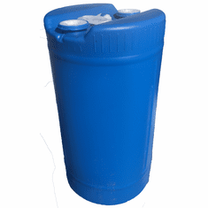 15 Gallon Plastic Blue Barrel 2x2 Inch Bung Caps | FDA Material