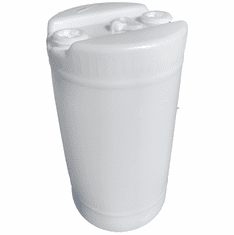 15 Gallon Plastic Natural Barrel 2x2 Inch Bung Caps | FDA Material