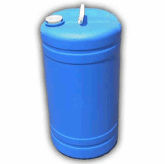 15 gallon Used Plastic Water Barrel Free Shipping
