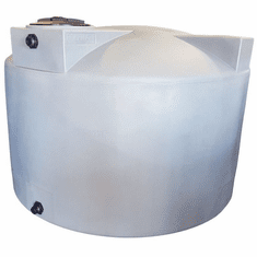 "1500 Gallon Plastic Water Storage Tank | Long-Term Water Storage |  Dimensions: 93"" Diameter x 63"" Height"