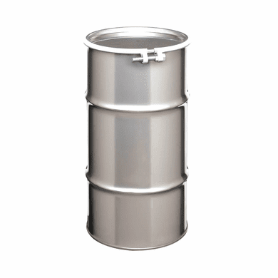16 Gallon Open Head Stainless Steel Drums