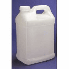 2 5 Gallon Bulk Packed F Style Polyethylene Bottles, 2 Case Pack