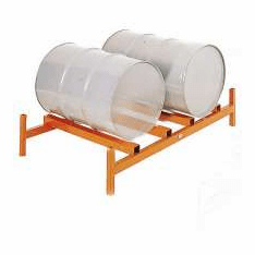 2-Drum, Standard Depth - Modular Drum Storage System