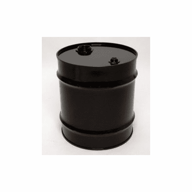 20 Gal  Closed-Top Steel Drum-Black-EPOXY-PHENOLIC LINING