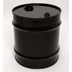 20 Gal Closed-Top Steel Drum-Black-Rust Inhibitor Lining