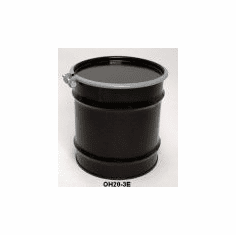 20 Gal Steel Drum Open-Head-Black EPOXY-PHENOLIC LINING