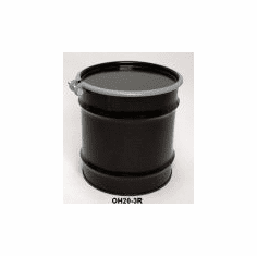 20 Gal Steel Drum Open-head-black Rust Inhibitor Lininging
