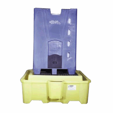 2000i One-Piece IBC Spill Pallet With Drain