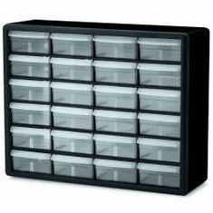24 Drawer Plastic Storage Cabinets