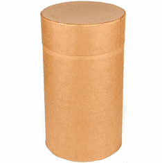 24 Gallon Round All-Fiber Cardboard Drums