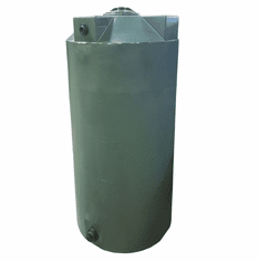 "250 Gallon Plastic Water Storage Tank | Long-Term Water Storage | 36"" Diameter x 67"" Height"