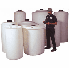 "250 Gallon Storage Tanks 34"" x 74"""