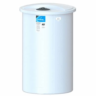 250 Gallon Storage Tanks Store Liquids, Chemicals, or Drinking Water
