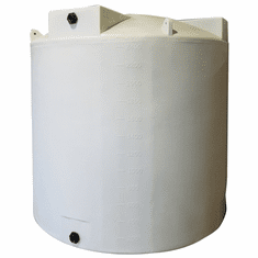 "2500 Gallon Plastic Water Storage Tank | Long-Term Water Storage |  Dimensions: 96"" Diameter x 95"" Height"