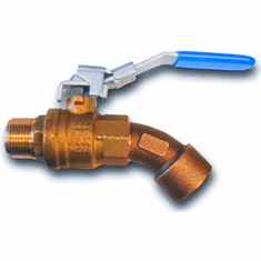 """3/4"""" Brass Ball Valve For Drum Ball valve barrel faucets For small tanks, utility tanks, overhead farm tanks, and drums as a gravity flow shut-off valve<br><font color=""""#008000"""" >Free Shipping</font>"""