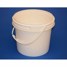 3 gal. w/plastic handle IPL Industrial Series Containers, 270 Pk